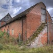 Stock Photo: Old farm granary, England