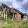Ruined Warwickshire barn — Stockfoto
