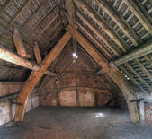 Cruck constructed Granary — Stock Photo