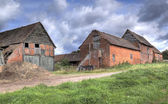 Old Warwickshire farm — Stock Photo
