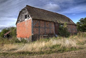 Ruined barn, England — Stock Photo