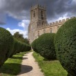 Warwickshire church — Stock Photo