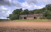 Warwickshire barn — Stock Photo