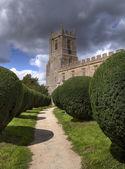 Warwickshire church — Stock Photo