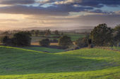 Worcestershire countryside — Stockfoto