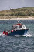 Small boat at Padstow, Cornwall — Stockfoto