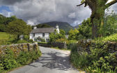 Cottage at Grasmere — Stock Photo