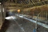 Cowhouse, England — Stock Photo