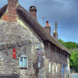 Stock Photo: Dorset cottages