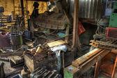 Scrap machinery — Stockfoto