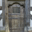 Stock Photo: Tudor Door, Shropshire