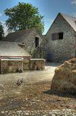 Traditional English farmyard — Foto de Stock