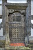 Tudor Door, Shropshire — Foto de Stock
