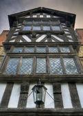 Tudor house, Shropshire — Stock Photo