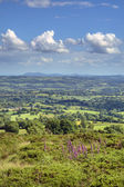Vista sobre worcestershire — Foto Stock