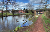 Worcestershire canal — Photo