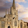 Oxfordshire church — Stock Photo