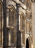Architectural stone detail — Stock Photo