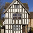 Stock Photo: Tudor House Facade, England