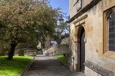Cotswold Churchyard — Stockfoto