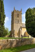 Church at Stanway, England — Stockfoto