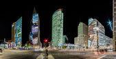 街の灯to světla — Stock fotografie