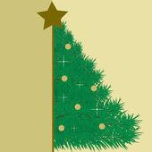 Christmas card. vector illustration — Stock Vector