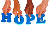 Giving a hope — Stock Photo