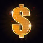 Lavish money sign — Stock Photo