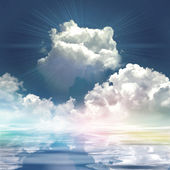 Shinning cloud — Stock Photo