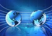 Globalization concept mind — Stock Photo
