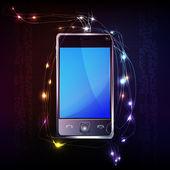 Mobile phone transmission — Stock Photo