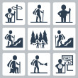 Traveller icons — Stock Vector #49274311