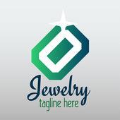Diseño de joyería — Vector de stock