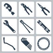 Hand tools — Stock Vector