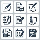 Tištěný dokument — Stock vektor