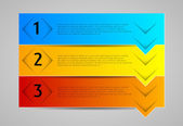 Infographic element, banners — Stockvector