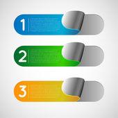 Collectione reklam Etiketler, etiket, sticker — Stok Vektör