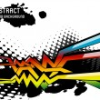 Abstract vector background — Vettoriali Stock