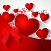 Walentynki streszczenie tło — Wektor stockowy