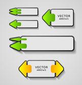 Modern arrows — Stock Vector