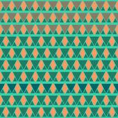 Boho style pattern of geometric shapes. — Cтоковый вектор