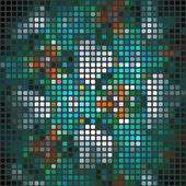 Mosaico de fondos abstractos. ilustración vectorial — Vector de stock
