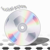 CD football anthem — Stock Vector