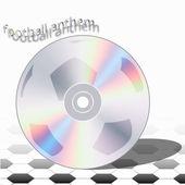 CD football anthem — Stock Vector