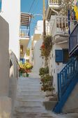 Street in Mykonos, Greece — Stock Photo