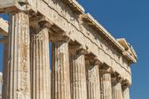 Detail of Parthenon on the Acropolis in Athens, Greece — Stock Photo