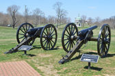 Cannons - Antietam National Battlefield, Maryland — Stock Photo
