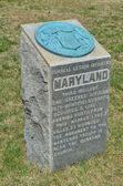 Maryland Monument - Antietam National Battlefield, Maryland — Stock Photo