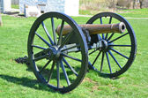 Cannon - Antietam National Battlefield, Maryland — Stock Photo